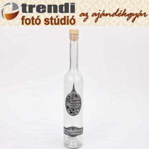 Pálinkás üveg 0,5 l