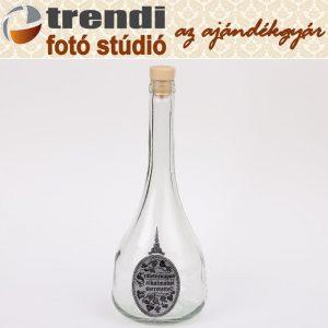 Pálinkás üveg 0,7 l