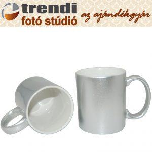 Bögre - ezüst
