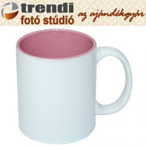 Bögre - pink belső