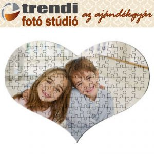 Puzzle - szív alakú